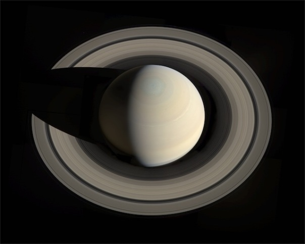 Saturn features the largest and priciest hula hoop in the Solar System.